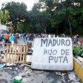 FOTOD | Venezuela asutava kogu valimistega seoses on hukkunud kümme inimest