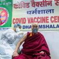 Tiibeti usujuht dalai-laama sai koroonavaktsiini süsti