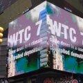 Tõeotsijad väidavad New Yorgi hiigelekraanil, et 9/11 ajal hävinud kolmas hoone õhiti