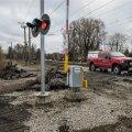Veerenni raudteeülesõitu remonditi novembris
