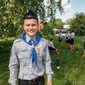 DELFI VIDEO: Paraadil osalenud noorkotkas: noorkotkana saab seigelda ja õpib võrre parandama