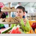 Lastega restorani sööma