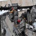 FOTOD JA VIDEO | Genova sillavaringu järel jätkatakse ellujäänute otsinguid, hukkunute arv on tõusnud 39-ni