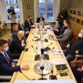Põhiseaduskomisjoni hommikune istung, kus valiti komisjoni esimees ja aseesimees.