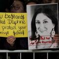 Teisipäevasel meeleavaldusel Malta parlamendi ees kanti Daphne Caruana Galizia pilte.