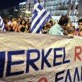 Ateena on visiidile saabuva Merkeli tõttu häireseisundis