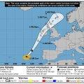 Orkaani Ophelia eeldatav teekond esmaspäeval ja teisipäeval. https://www.nhc.noaa.gov