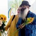 Kris Lemsalu Malone & Kyp Malone Lemsalu näituse  avamine Kai kunstikeskuses.
