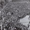 Rahvarinde meeleavaldus Tallinnas Vabaduse väljakul 20. augustil 1991