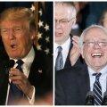 Donald Trump ja Bernie Sanders