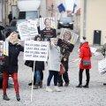 ФОТО | Противники коронавирусных ограничений собрались на Тоомпеа