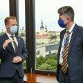 Eesti ja Taani välisministri kahepoolne kohtumine