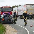 Liiklusõnnetus Järvamaal Koigi lähedal