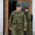 Kaitseväe juhataja lendas Liibanoni Eesti kaitseväelasi üle vaatama