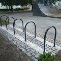 В Кесклинне установили новые велопарковки