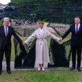 Balti riikide presidendid Balti keti 30. aastapäeval Lilli piiripunktis