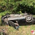 FOTOD: Raplamaal toimus kahe autoga raske liiklusõnnetus, kõik autodes viibinud inimesed said vigastada