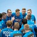 Eesti käsipallikoondises valitseb väga tugev meeskonnavaim.