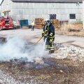 Põleng Saaremaal