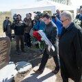 Holokausti mälestusmärgi avamine Lasnamäel
