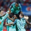 ФОТО и ВИДЕО: Сборная Португалии - первый финалист чемпионата Европы!
