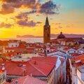 Vaade Alghero linnale Sardiinias.