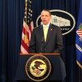 Министерство юстиции США, по словам заместителя руководителя этого ведомства, Рода Розенштайна, будет настаивать на экстрадиции 13 россиян,