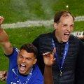 Thiago Silva ja Chelsea peatreener Thomas Tuchel
