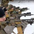 ФОТО   Эстонский спецназ меняет вооружение на новые автоматы и пистолеты