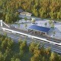 Rail Balticu eskiisfotod