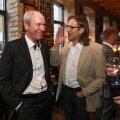 Mart Luik ja Peep Kala 2013. aastal. Täna kritiseeris Isamaa meedianõunik Mart Luik teravalt ERR-i ajakirjanikke. Peep Kala astus oma ajakirjanike kaitseks välja.