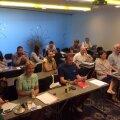 Rahvusvaheline seltskond õppis Näduveres sündinud projekti raames tundma Eesti omavalitsuste infosüsteemi