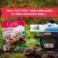 Oma Maitse erinumbrist GRILL leiad parimad retseptid, nõuanded ja soovitused grillihooaja õnnestumiseks!