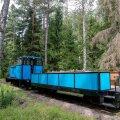 Naissaare rong, miniekskursioon Naissaarel, raudtee