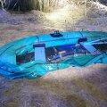 FOTO: Tartumaal sattusid uppumisohtu kaks kummipaadiga järvel olnud meest