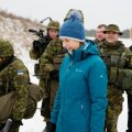 President Kersti Kaljulaid külastas nädalavahetusel toimunud õppuseid