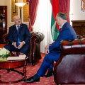 Aljaksandr Lukašenka ja Igor Dodon