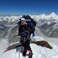 TEGIJA: Septembris 2019 vallutas Katrin Merisalu esimese Eesti naisena 8136 meetrit kõrge Manaslu mäe.