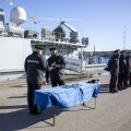 ФОТО   На минный тральщик ВМС Эстонии пришел новый капитан