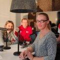 ulija Mõnnakmäe, Marko Mett, Mari Loorman ja Karl Rinaldo Manta maja stuudios.