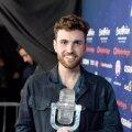 Viimane Eurovisioni võitja Duncan Laurence meenutab võidutrofee purunemist: seda asja oli võimatu transportida