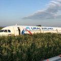 VIDEO | Moskva oblastis maandus reisilennuk pärast kajakaparve sattumist maisipõllule