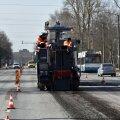 Вниманию водителей: на столичном бульваре Сыпрузе начался ремонт дорожного покрытия