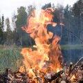 Suure tuleohu tõttu tuleks metsades liikumist vältida