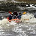 Rafting Pirita jõel.