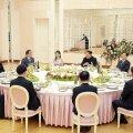 FOTOD | Kim Jong-un kostitas Lõuna-Korea delegatsiooni õhtusöögiga ja soovis tihedamate suhete arendamist