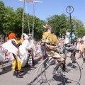 ФОТО: В честь своего юбилея Кохтла-Ярве устроил большой праздник для детей