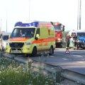 Liiklusõnnetus Tallinna-Pärnu maanteel