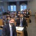 IRLi fraktsiooni protest Tallinna linnavolikogus
