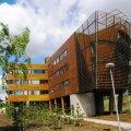 Metsä Group kontorihoone Espoos on ehitatud tehases valmistatud moodulitest.